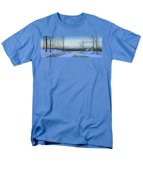 Men's T-Shirt  (Regular Fit) featuring the painting A New Dawn by Mike Brown