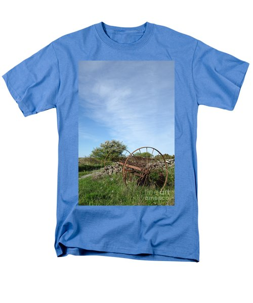 Abandoned Old Horse Rake  Men's T-Shirt  (Regular Fit) by Kennerth and Birgitta Kullman