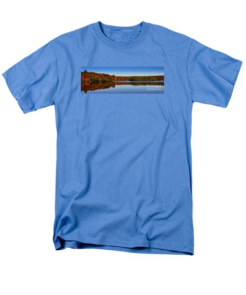 Adirondack October Men's T-Shirt  (Regular Fit) by Diane E Berry