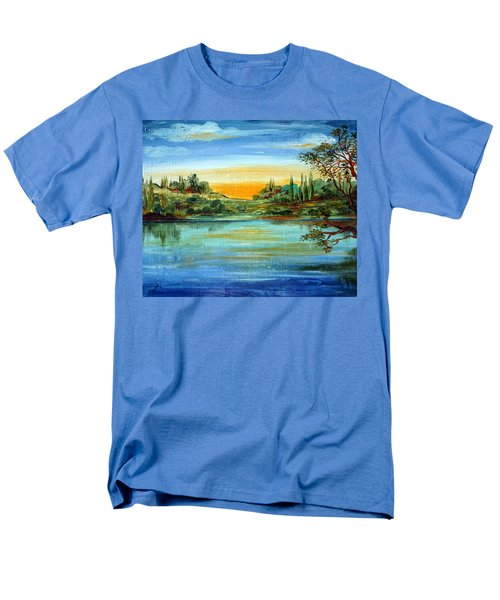 Alba Sul Lago Men's T-Shirt  (Regular Fit)