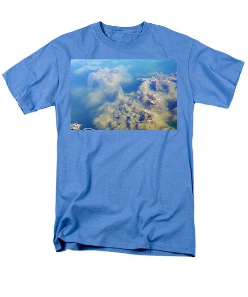 Men's T-Shirt  (Regular Fit) featuring the photograph Algae Stalagmites by Greg Graham