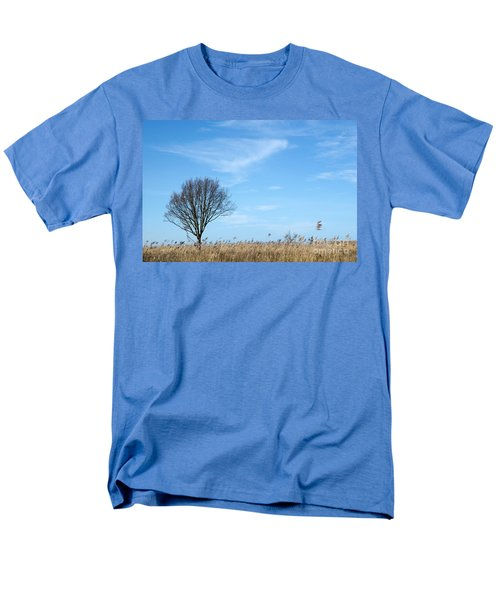 Alone Tree In The Reeds Men's T-Shirt  (Regular Fit) by Kennerth and Birgitta Kullman