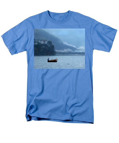 Men's T-Shirt  (Regular Fit) featuring the photograph Amalfi To Capri. Italy by Jennie Breeze