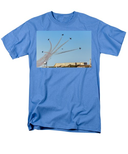 Angels Over Alcatraz Men's T-Shirt  (Regular Fit) by Kate Brown