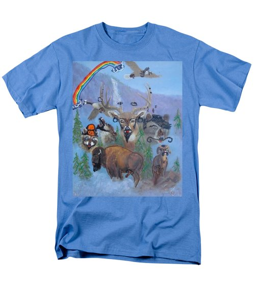 Animal Equality Men's T-Shirt  (Regular Fit) by Lisa Piper