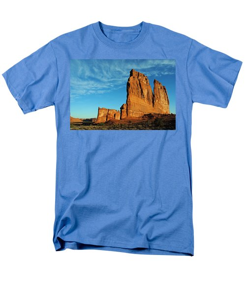 Men's T-Shirt  (Regular Fit) featuring the photograph Arches National Park 47 by Jeff Brunton