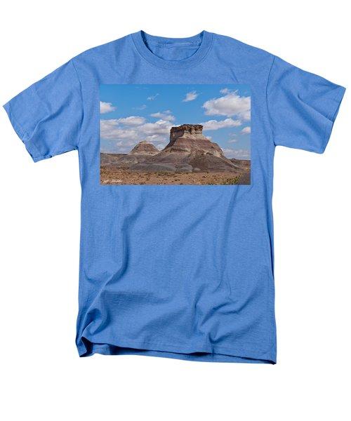 Men's T-Shirt  (Regular Fit) featuring the photograph Arizona Desert And Mesa by Jeff Goulden