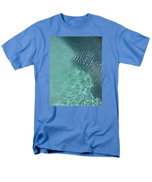 Art Homage David Hockney Swimming Pool Arizona City Arizona 2005 Men's T-Shirt  (Regular Fit) by David Lee Guss
