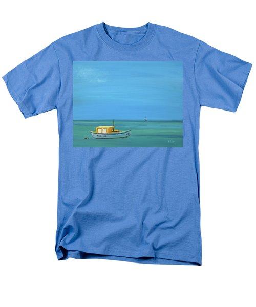 Men's T-Shirt  (Regular Fit) featuring the painting Aruba by Donna Tuten