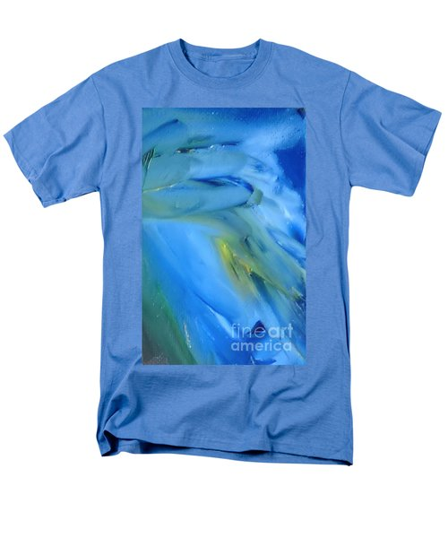 Men's T-Shirt  (Regular Fit) featuring the painting Azul by Reina Resto