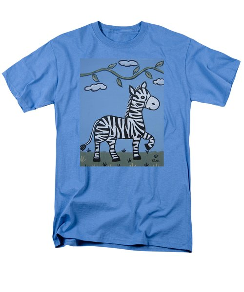 Baby Zebra Men's T-Shirt  (Regular Fit) by Suzanne Theis