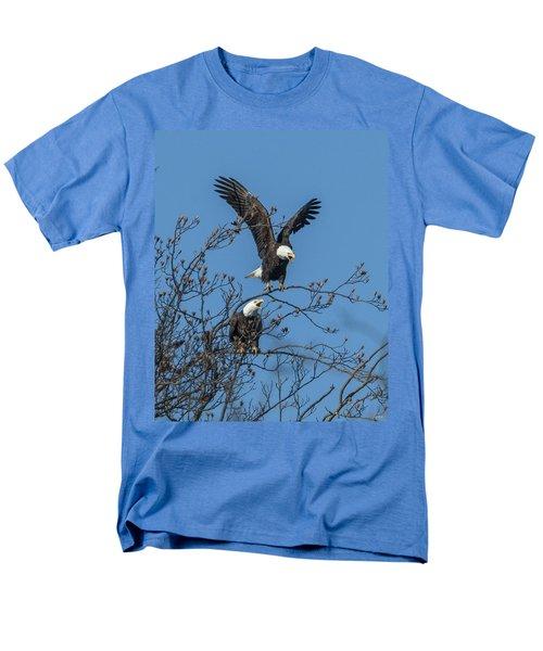 Bald Eagles Screaming Drb169 Men's T-Shirt  (Regular Fit) by Gerry Gantt