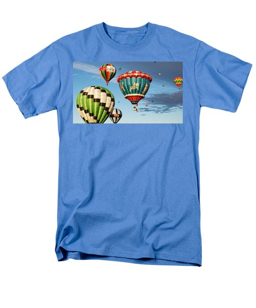 Balloons Away Men's T-Shirt  (Regular Fit) by Dave Files