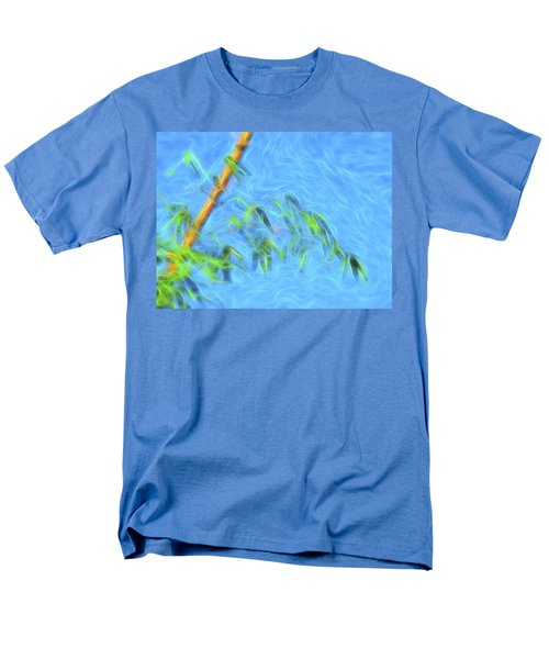 Men's T-Shirt  (Regular Fit) featuring the digital art Bamboo Wind 1 by William Horden