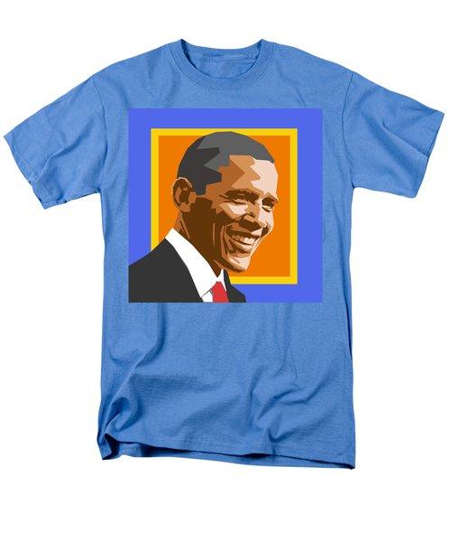 Barack Men's T-Shirt  (Regular Fit) by Douglas Simonson