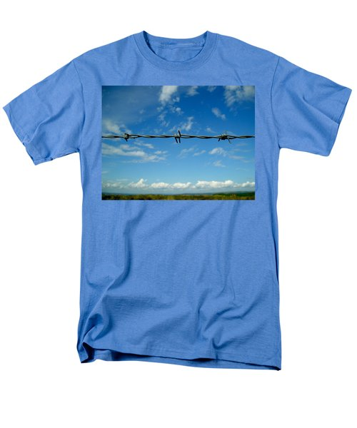 Barbed Sky Men's T-Shirt  (Regular Fit) by Nina Ficur Feenan
