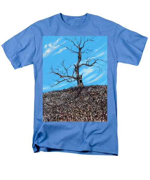 Men's T-Shirt  (Regular Fit) featuring the painting Battle Scars by Meaghan Troup