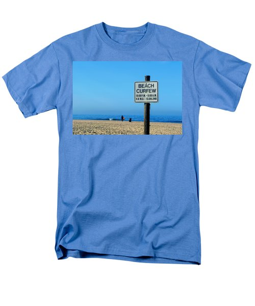 Beach Curfew Men's T-Shirt  (Regular Fit) by Tammy Espino