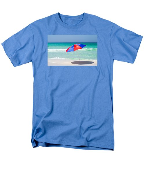 Beach Umbrella Men's T-Shirt  (Regular Fit) by Shelby  Young