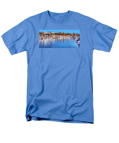 Men's T-Shirt  (Regular Fit) featuring the photograph Beacon Bay - South by Jim Carrell
