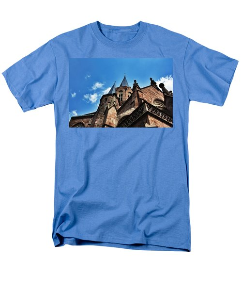 Beautiful Church  Men's T-Shirt  (Regular Fit) by Daniel Precht