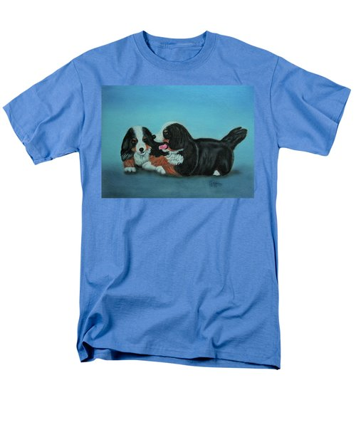 Bernese Mountain Puppies Men's T-Shirt  (Regular Fit)