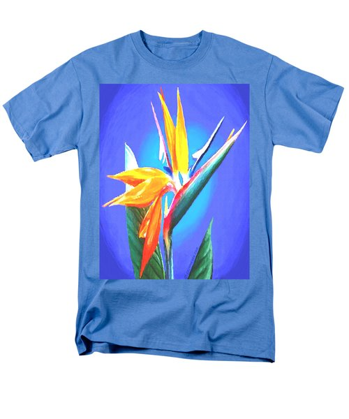 Bird Of Paradise Flower Men's T-Shirt  (Regular Fit) by Sophia Schmierer