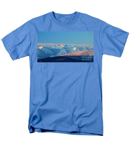 Bitterroot Mountain Morning Men's T-Shirt  (Regular Fit) by Joseph J Stevens