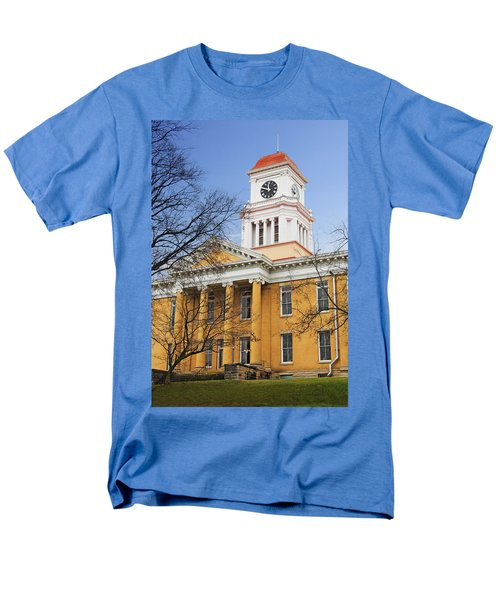 Blount County Courthouse Men's T-Shirt  (Regular Fit) by Melinda Fawver