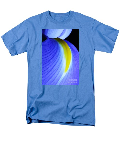 Men's T-Shirt  (Regular Fit) featuring the photograph Blue by Judy Whitton