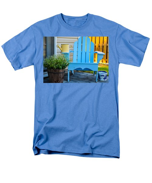 Blue Repose  Men's T-Shirt  (Regular Fit) by Mary Ward
