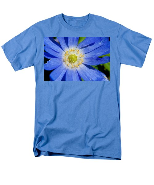 Blue Swan River Daisy Men's T-Shirt  (Regular Fit) by Tikvah's Hope