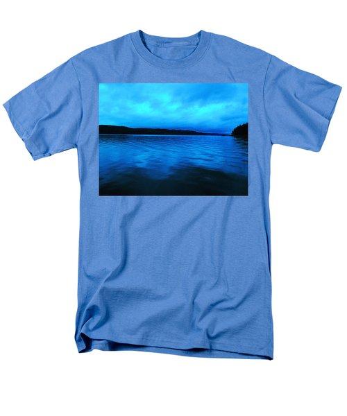 Blue Water In The Morn  Men's T-Shirt  (Regular Fit) by Jeff Swan