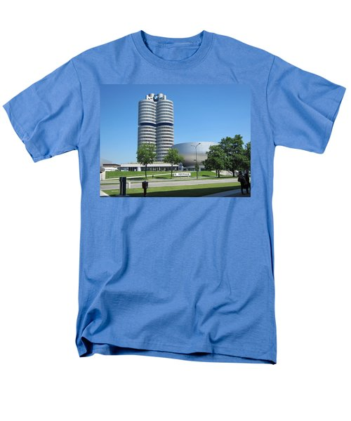 Men's T-Shirt  (Regular Fit) featuring the photograph Bmw Head Quaters by Pema Hou