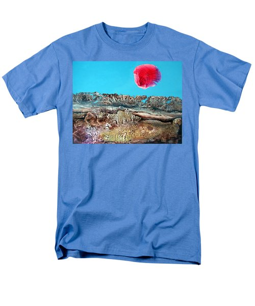 Men's T-Shirt  (Regular Fit) featuring the painting Bogomil Sunrise 2 by Otto Rapp