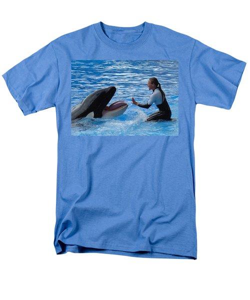 Men's T-Shirt  (Regular Fit) featuring the photograph Bonding by David Nicholls