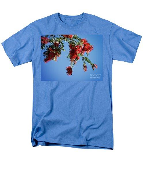 Bottle Brushing The Sky Men's T-Shirt  (Regular Fit) by Meghan at FireBonnet Art