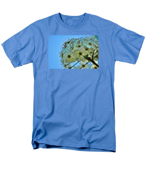 Bradford Pear I Men's T-Shirt  (Regular Fit) by Lesa Fine
