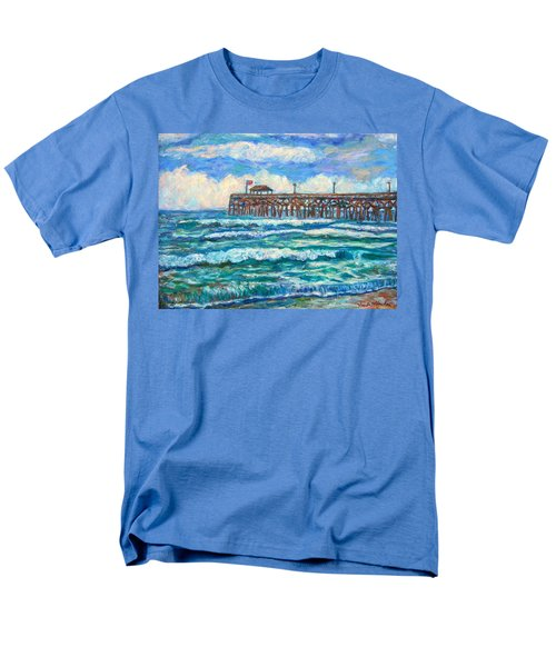 Breakers At Pawleys Island Men's T-Shirt  (Regular Fit) by Kendall Kessler