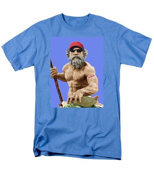 Bubba Neptune Men's T-Shirt  (Regular Fit) by Mark Alder