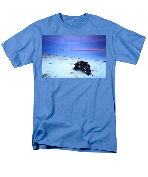 Burnt Driftwood Sunset Men's T-Shirt  (Regular Fit)