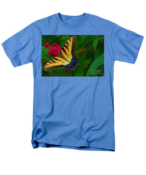 Men's T-Shirt  (Regular Fit) featuring the photograph Butterfly by Geraldine DeBoer