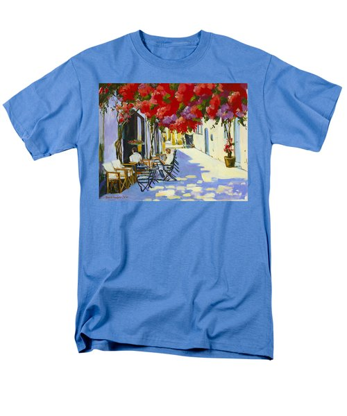 Cafe Men's T-Shirt  (Regular Fit) by Alexandra Maria Ethlyn Cheshire