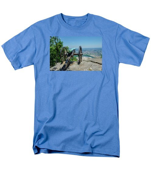 Men's T-Shirt  (Regular Fit) featuring the photograph Cannon At Point Park by Susan  McMenamin