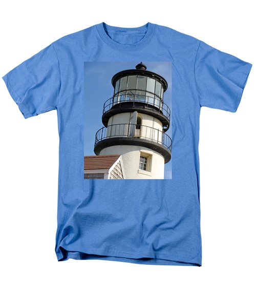 Men's T-Shirt  (Regular Fit) featuring the photograph Cape Cod Lighthouse by Ira Shander