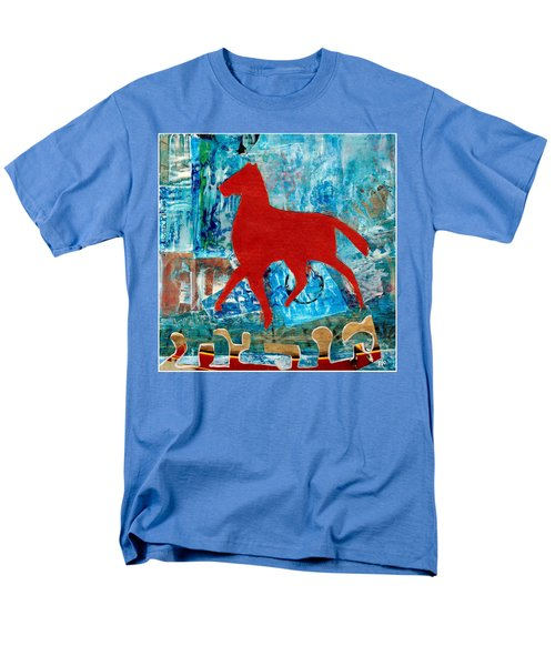 Carousel Men's T-Shirt  (Regular Fit) by Patricia Cleasby