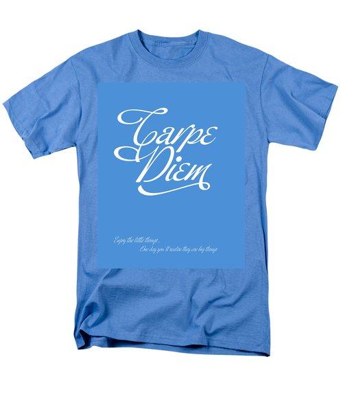 Carpe Diem Men's T-Shirt  (Regular Fit) by Gina Dsgn
