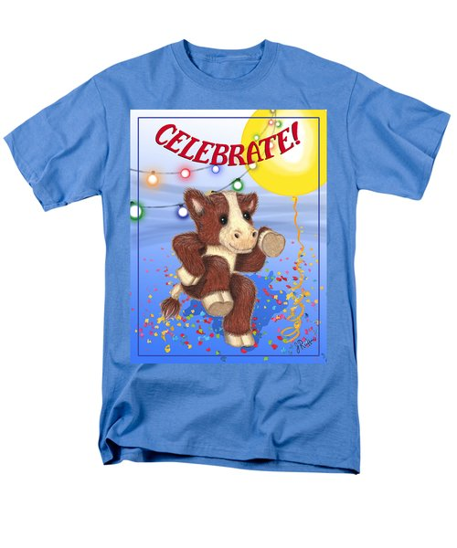 Celebrate Men's T-Shirt  (Regular Fit) by Jerry Ruffin