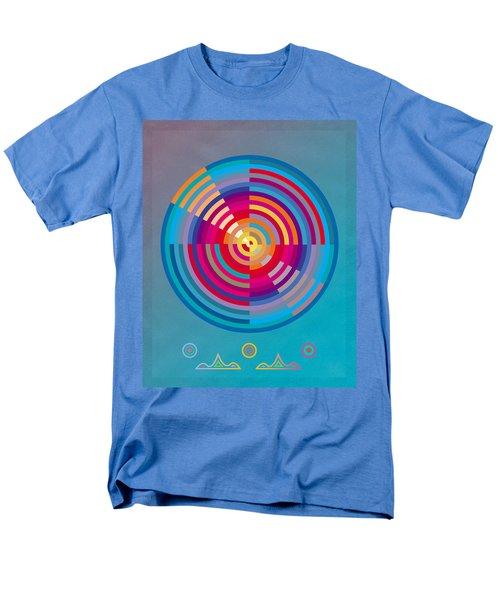 Circles Men's T-Shirt  (Regular Fit) by David Klaboe