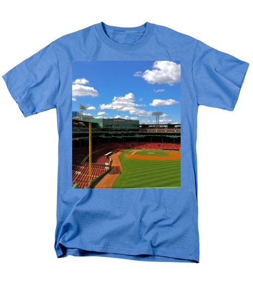 Men's T-Shirt  (Regular Fit) featuring the photograph Classic Fenway I  Fenway Park by Iconic Images Art Gallery David Pucciarelli